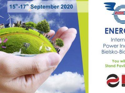 Targi ENERGETAB 2020 wBielsku Białej.